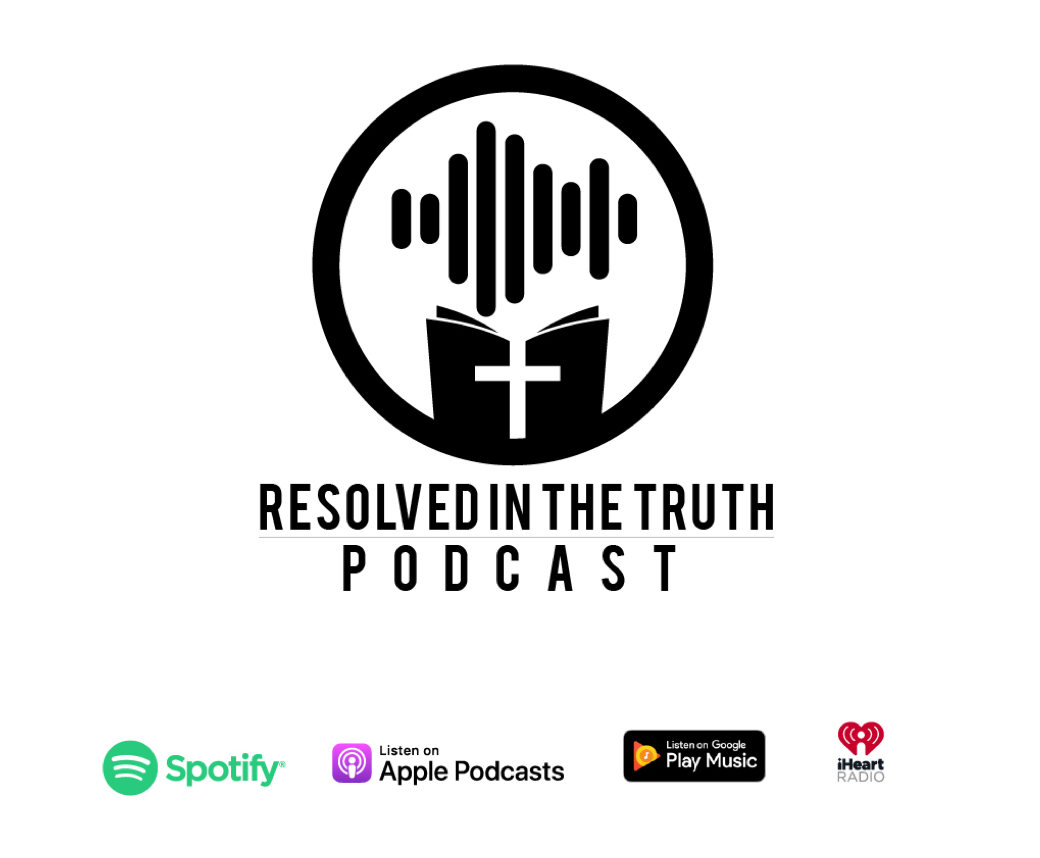 Logo for Resolved in the Truth Podcast